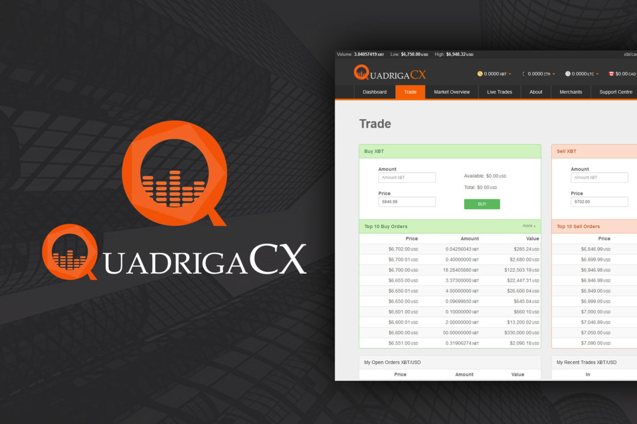 Court Takes Control of $21Million in Dispute Between Bank & QuadrigaCX Exchange