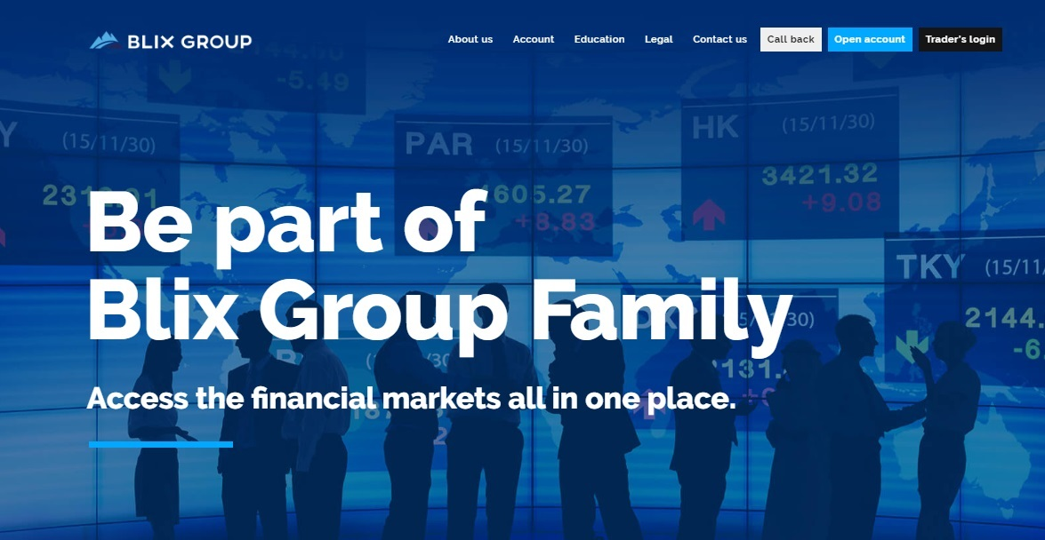 Blix Group Review – Blix-Group.com Emerging as a New Favorite Broker for Cryptocurrency Traders