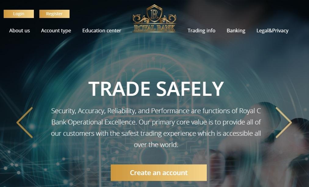 RoyalCBank Bewertungen: Sicher in profitable Kryptowährungen investieren