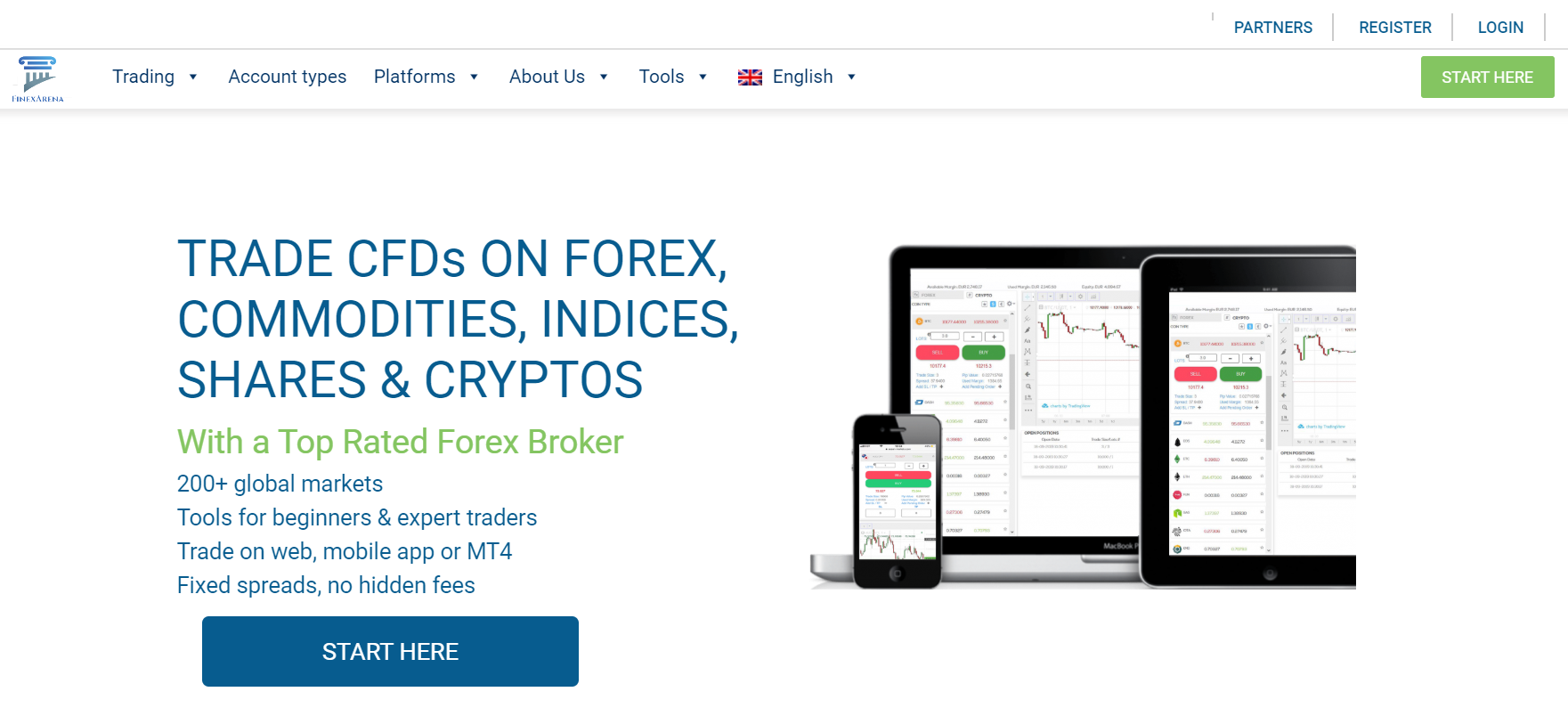 FinexArena Review: Experience Great Trading In Cryptocurrency and Forex CFDs