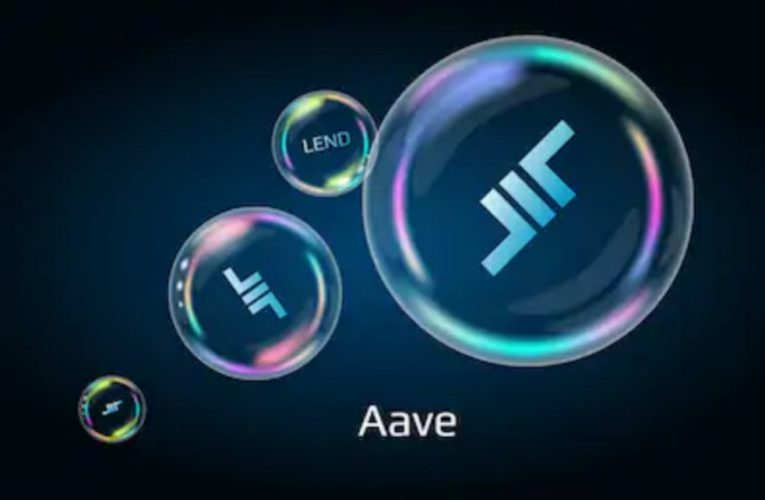 Aave Experiences Rise In Price And Total Value Locked Down